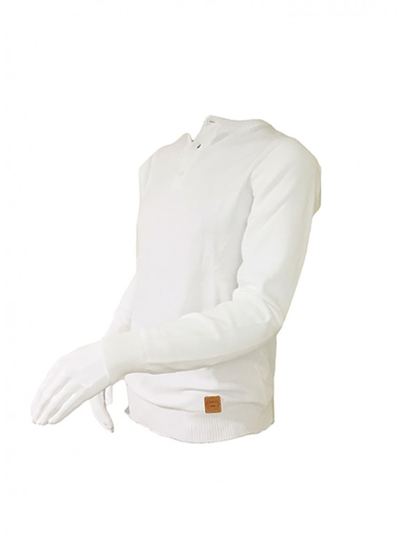 UAAS11-MENS SPRING HENLEY SWEATER
