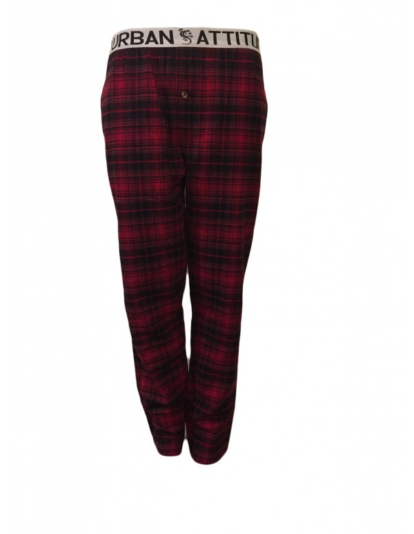 UAMPJ17-MENS COTTON FLANNEL PYJAMA